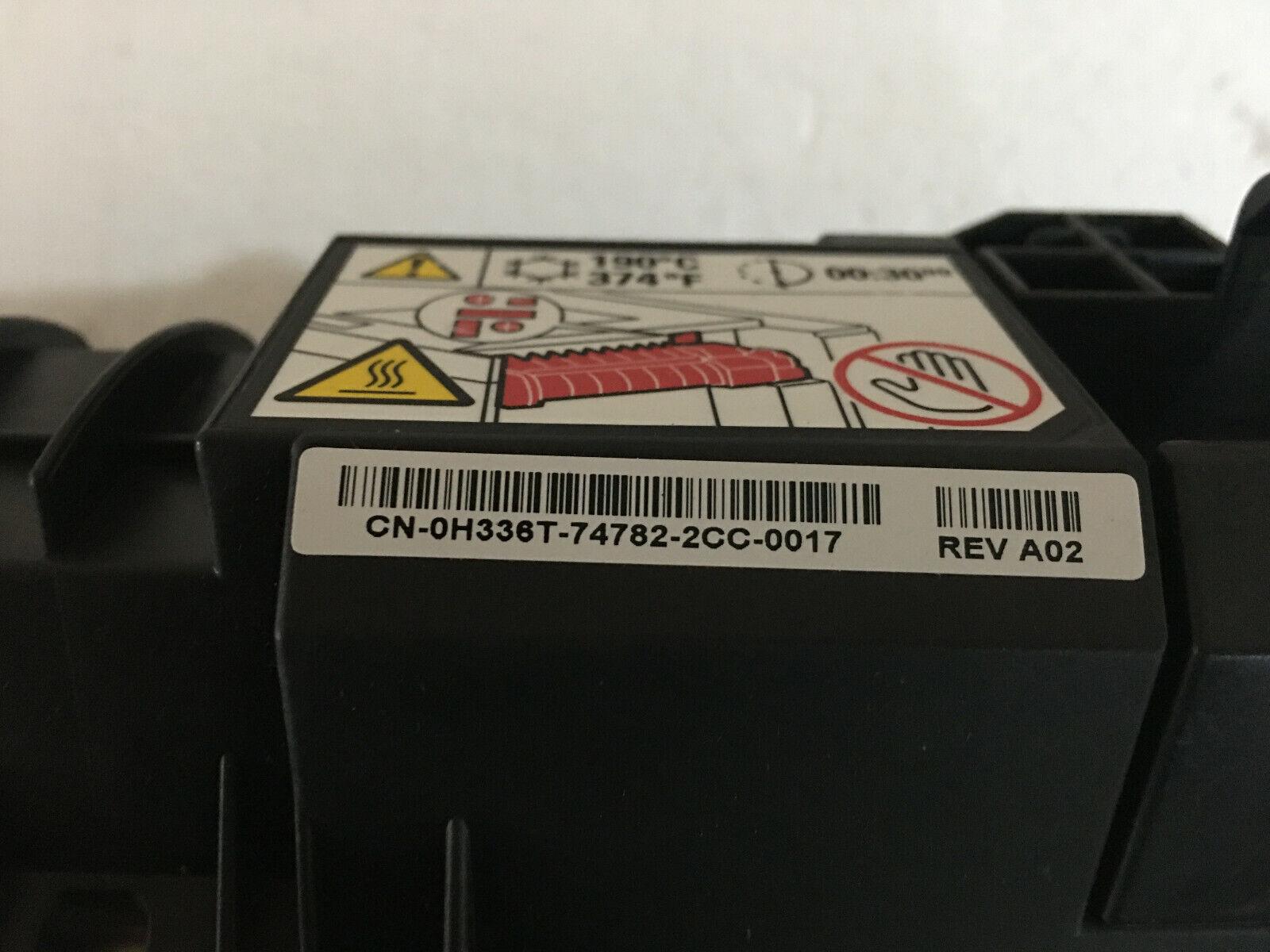 0h336t h336t original dell 5130cdn couleur imprimante laser fuser unité 220v