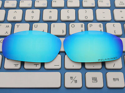 Replacement Ice Blue Polarized Lenses for Blender Sunglasses OO4059, used for sale  USA