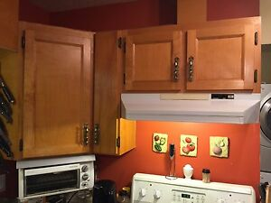 Kitchen Cupboards and Cabinets (Used)