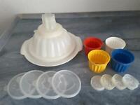 Tupper Tupperware Puddingformen mit Deckel kl. Prinz Niedersachsen - Kalefeld Vorschau