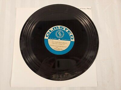Vtg TV Advertising Spot ~ Acetate Vinyl Record ~ Five S&H Green Stamp Jingles