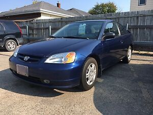 2001 Honda Civic LX 2door, tags: toyota, ford, chevrolet, cheap