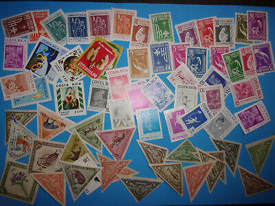COSTA RICA COLLECTION OLD TO MODERN MUCH MH STAMPS