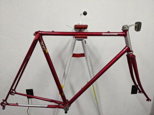 Bridgestone 300 lugged steel road bicycle frame + fork Japan 57cm