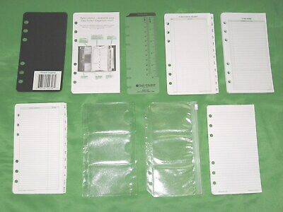 Portable 1 Year Undated Refill Lot Day Timer Planner Compact Franklin Covey
