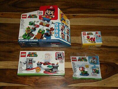 LEGO SUPER MARIO ADVENTURES BUNDLE ~ Starter Course 71360 + 71364 71371 30385