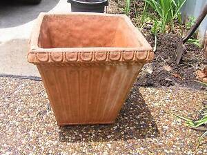 Terracotta Pot-Concrete & Crushed Marble Garden Planter $55 each Charlestown Lake Macquarie Area Preview