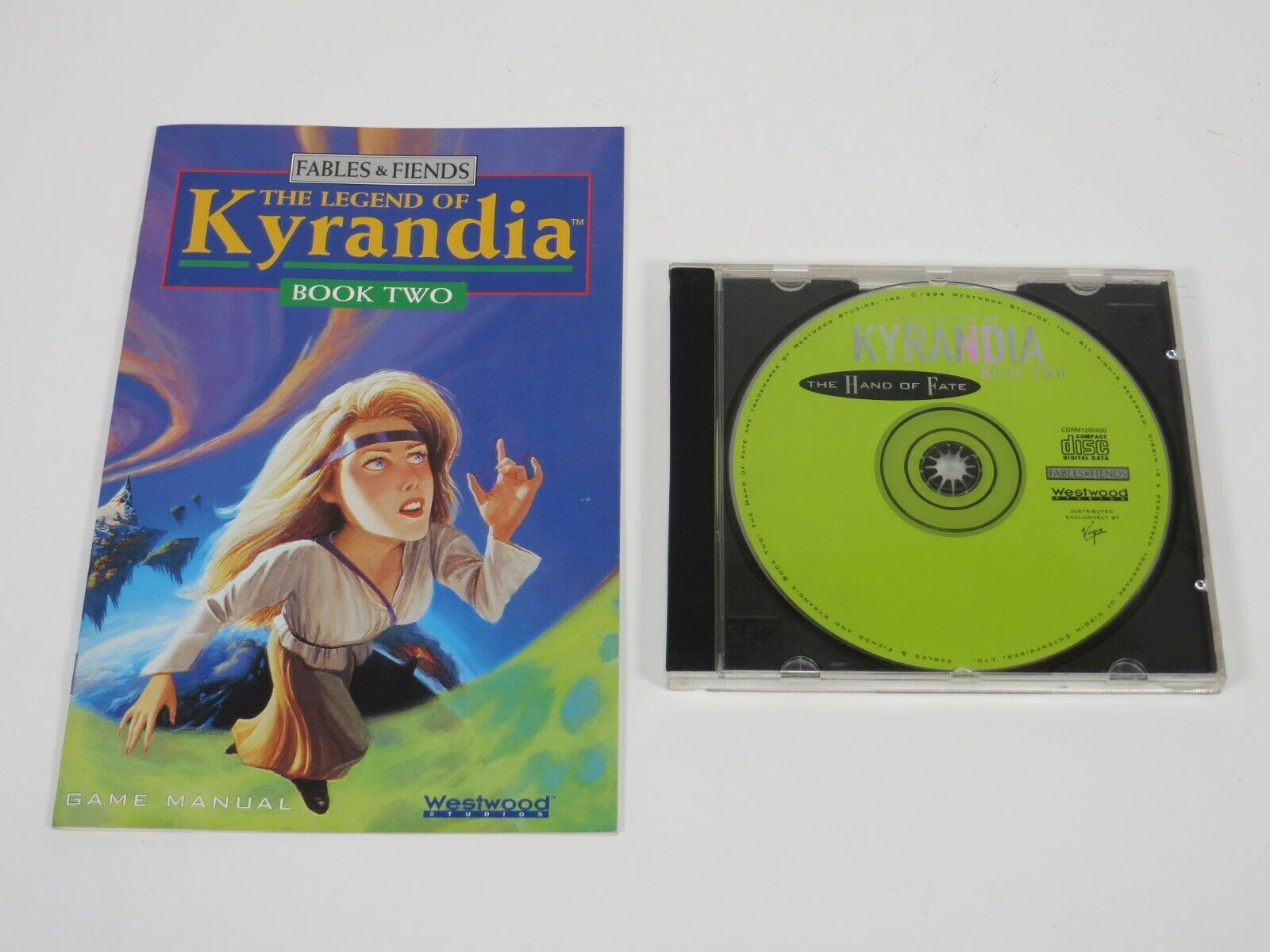 Computer Games - The Legend of Kyrandia Book Two: The Hand of Fate (PC, 1994) Computer Game