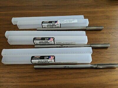 3x New Hss Apt 7 Chucking Reamer Lot Set 0.3950 0.3960 0.3970 Alvord-polk Tool