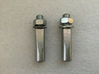 9.0 8.0 Crank Cotter Pins 1 pair 9.5