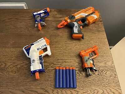 NERF Firestrike Triad Jolt Blaster Toy Bundle