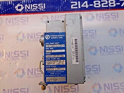 Frequency West Ms-62x0l-59 Microwave Oscillator 277-0486-110 Rev E