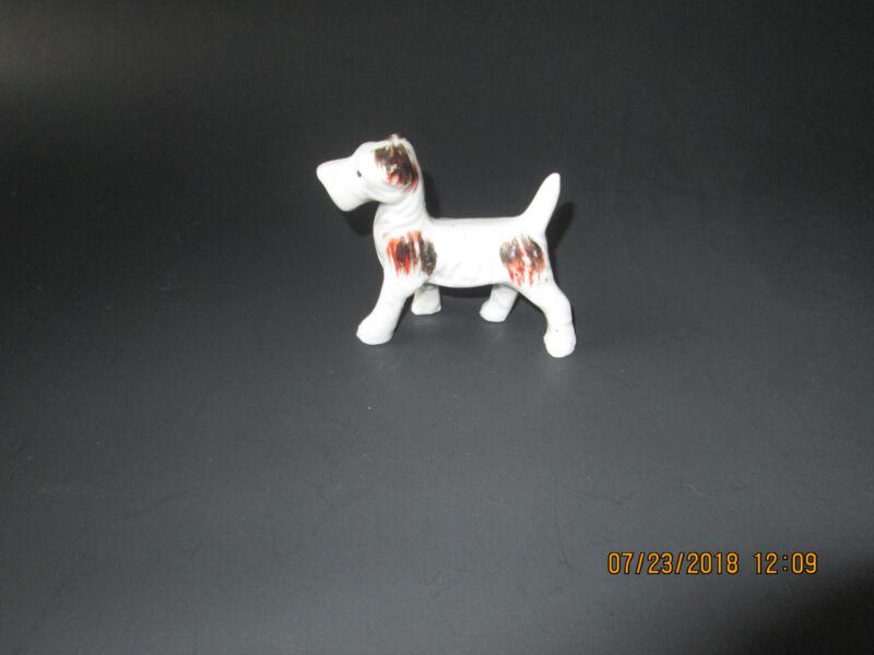Fox terrier miniature small dog figurine vintage japan