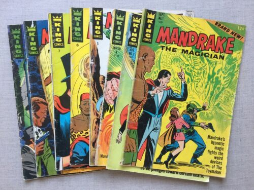 Mandrake the Magician King Comics Vintage Silver Age Comic Book Collection