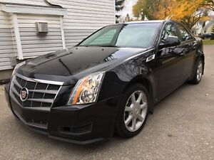 Ultra low kms on this 304HP 2008 Cadillac CTS AWD