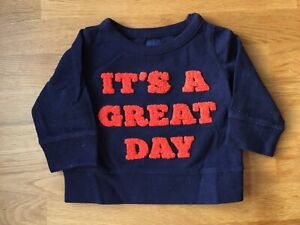 Baby Gap - terry sweater - 6-12 months