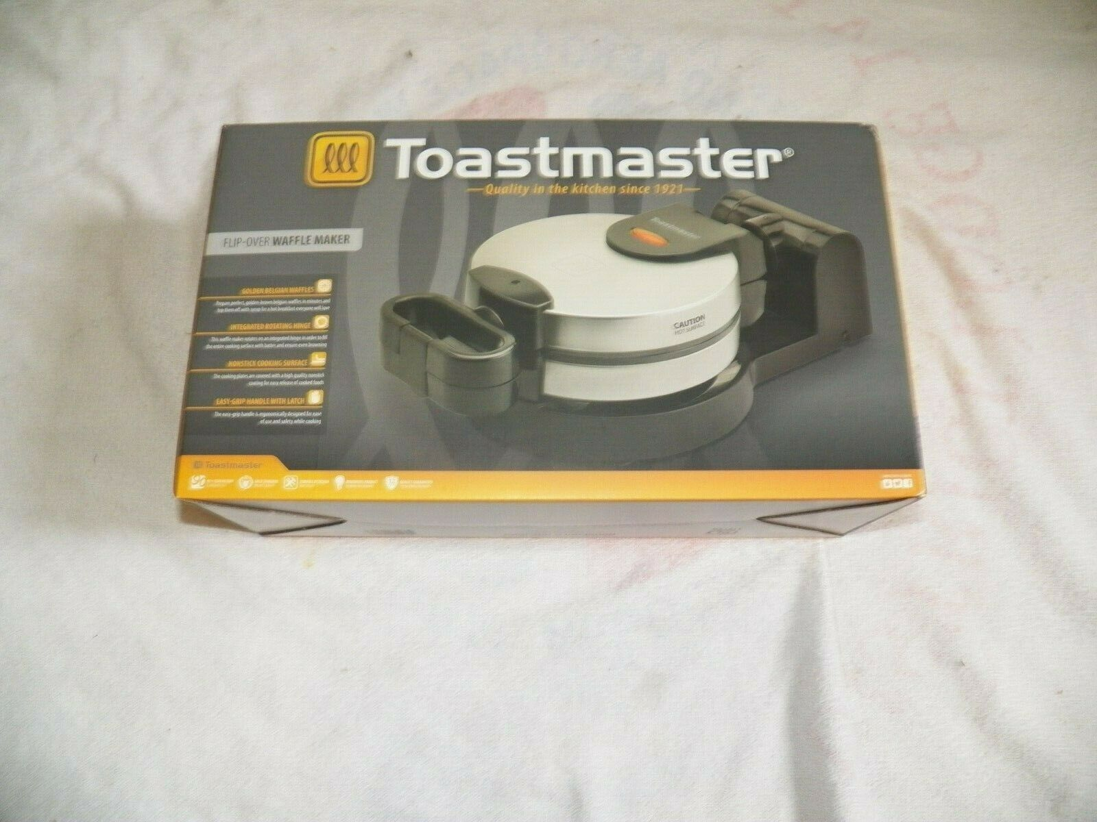 Toastmaster Flip Over Wafflemaker