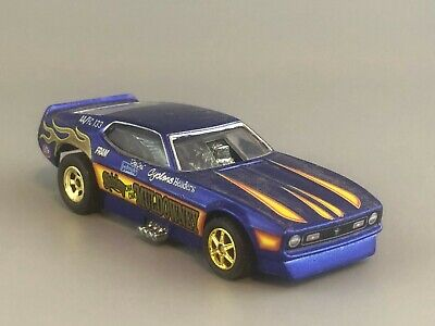 Hot Wheels '71 Mustang Funny Car Real Riders Shirley Muldowney Loose