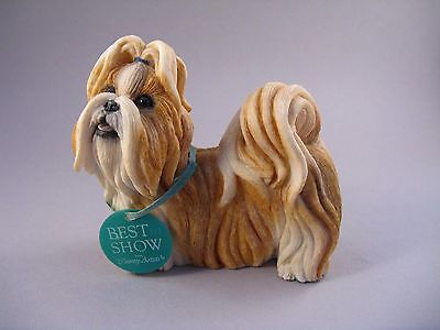 Country Artist Best In Show Shih Tzu Gold & White Boxed