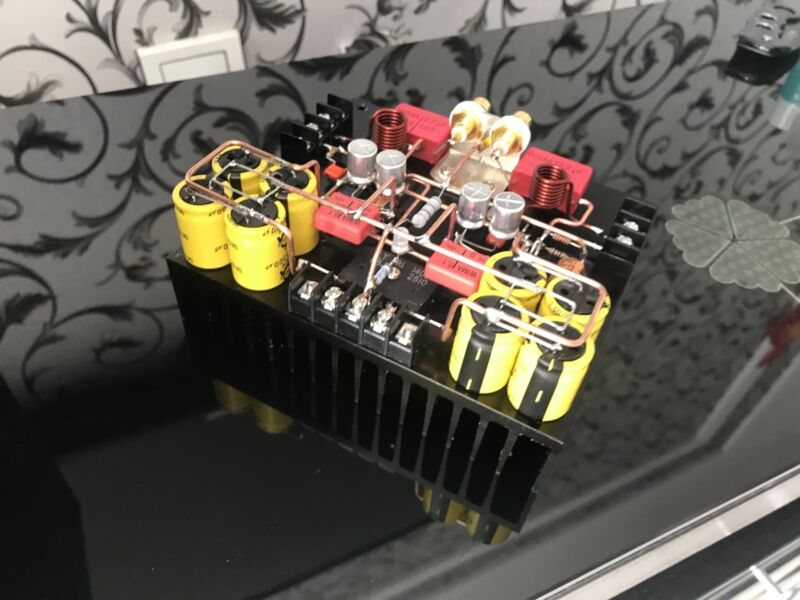 LM1875 HiFi power amplifier board