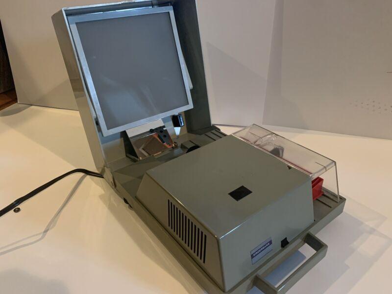 Vintage Kindermann Model 1127 Slide Projector Slide Tray Made in Germany