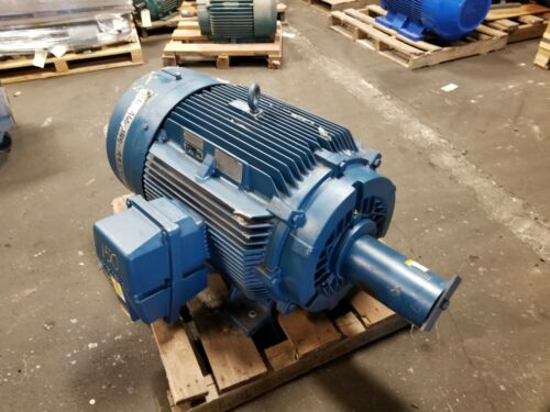 NEW SIEMENS 150 HP ELECTRIC MOTOR 460 VAC 1785 RPM 445T FRAME 3 PHASE RGZZESD
