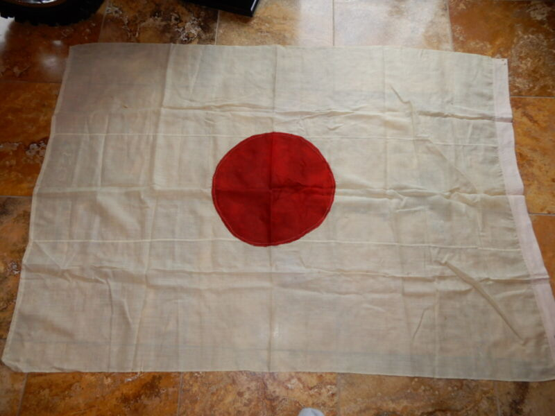PAN AMERICAN EXPOSITION JAPANESE FLAG SIGNED BY DIRECTOR GENERAL BUCHANAN 1901