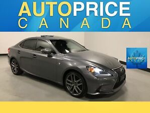 2016 Lexus IS 300 F-SPRT|NAVIGATION|REAR CAM|LEATHER