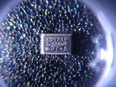 Dale Xosm-57 Clock Oscillator 3.6864mhz Hcmosttl 7x5x1.9 Smd New 1pkg