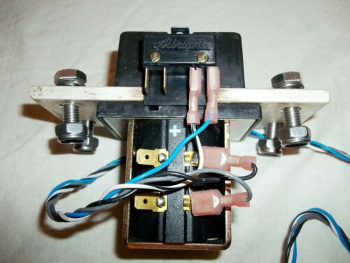 TESTED CURTIS ALBRIGHT SW500A-54 CONTACTOR RELAY BUSS BAR 54V COIL 500A 100A 200