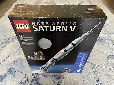 LEGO Ideas NASA Apollo Saturn V (21309) New In Box Factory Sealed Retired