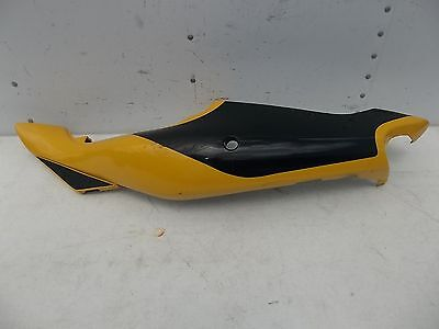 (KAWASAKI LEFT SIDE BODY FRAME COVER PANEL ZX-7 750 2001 YELLOW OEM )