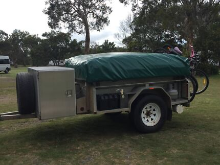 Ozzie Off-Road Camper Trailer West Woombye Maroochydore Area Preview