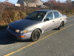 1999 Toyota Corolla 1.8 automatic works good inspected