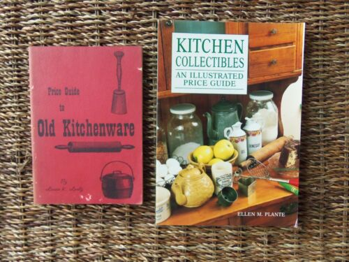 signed by author KITCHEN COLLECTIBLES PRICE GUIDES OLD KITCHENWARE 1st Edition
