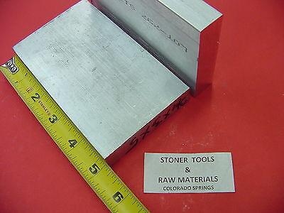 2 Pieces 34 X 3 Aluminum 6061 Flat Bar 5 Long T6511 New Mill Stock Plate