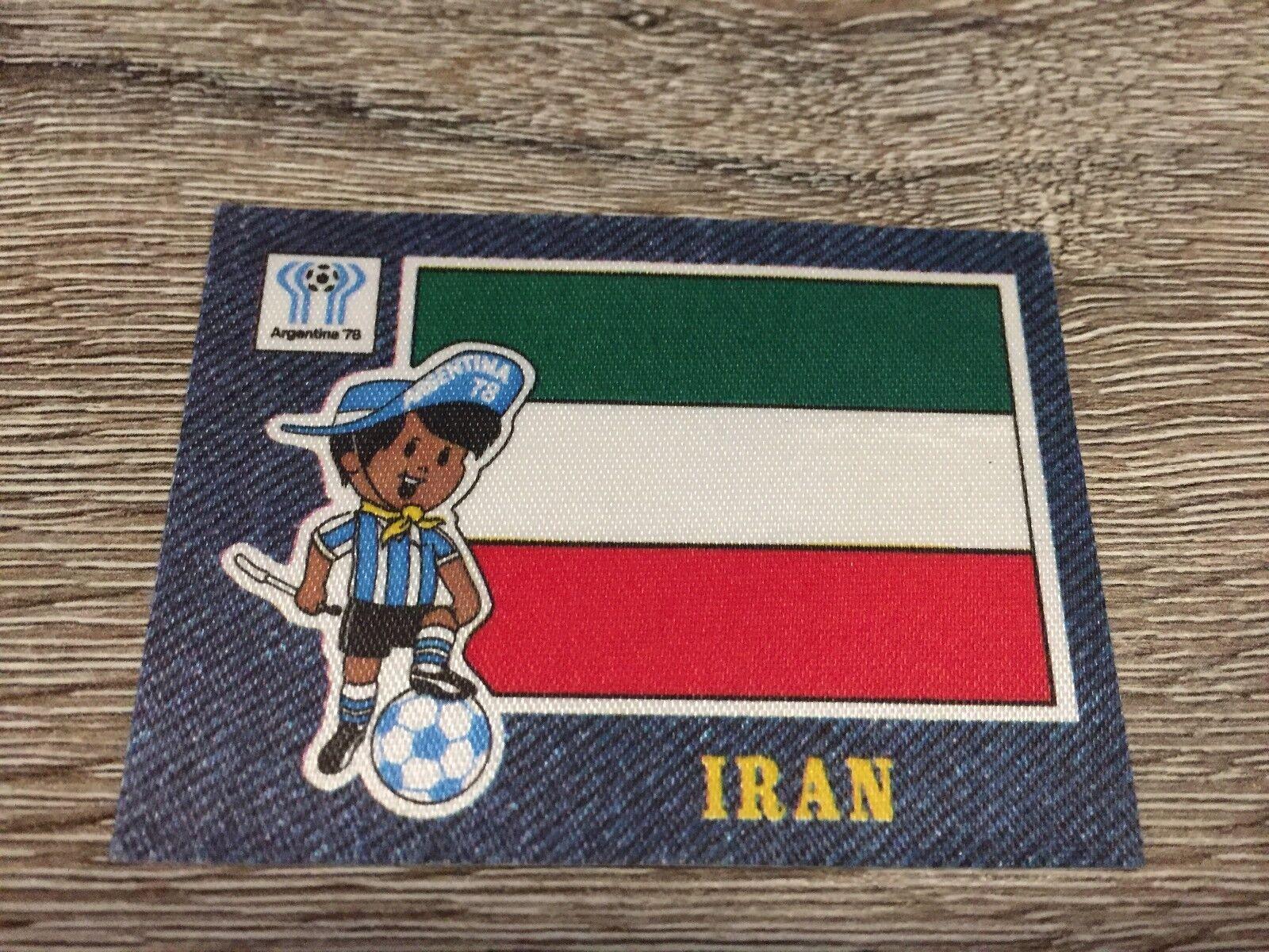 Panini Jean's Fussball 1978 - Sticker Argentina 78 - Iran