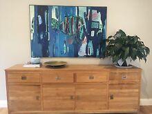 Framed canvas art. Mixed media. Original Art by American Artist Somerton Park Holdfast Bay Preview