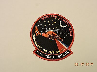 US Coast Guard Infrared Camera Team Guardians of Night USCG Military Patch #57