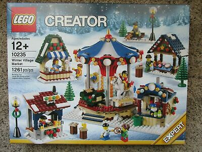 LEGO Creator Expert Winter Christmas Holiday Village Market 10235 NEW USA Seller