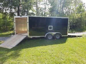 2017 7x19 Stealth Enclosed Trailer