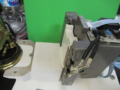 Leica Dmrb Motorized Stage Micrometer Microscope Part Optics As Pictured 58-b-23