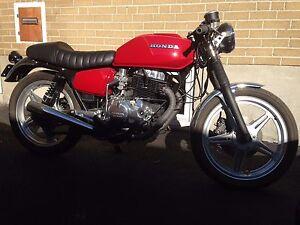 1979 Honda CB400 TII project
