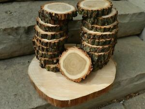 Wooden Wedding Centrepieces / Wood Coasters