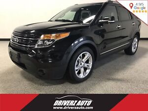 2013 Ford Explorer Limited CLEAN CARPROOF, ALL WHEEL DRIVE, H...