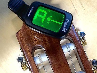 Gitarren Stimmgerät Clip-Tuner - chromatisch auch Ukulele Banjo Geige |4c
