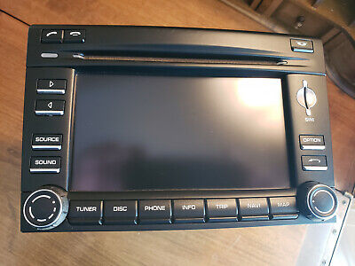PORSCHE 911 997 997.2 BOXSTER CAYMAN NAVIGATION GPS HEAD UNIT STEREO RADIO PCM 3