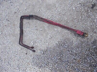 International Farmall 656 Hydro Tractor Hydraulic Lines Line