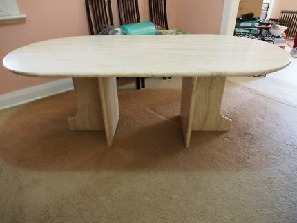 Gorgeous Marble Table Dalkeith Nedlands Area Preview