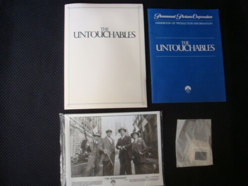 The Untouchables 1987 Press Kit. Costner. Sean Connery COMPLETE